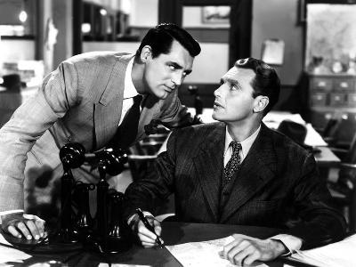 His Girl Friday, Cary Grant, Ralph Bellamy, 1940