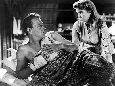 Hondo, John Wayne, Geraldine Page, 1953