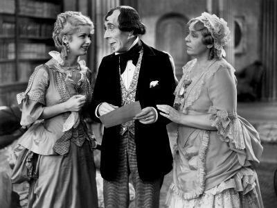 Disraeli, Joan Bennett, George Arliss, Florence Arliss, 1929