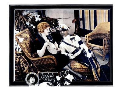 Foolish Wives, Miss Dupont, Erich Von Stroheim, 1922