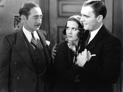 The Front Page, Adolphe Menjou, Mary Brian, Pat O'Brien, 1931