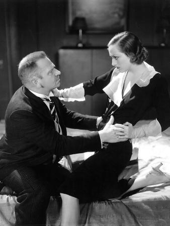Grand Hotel, Wallace Beery, Joan Crawford, 1932
