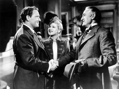 Dr. Jekyll And Mr. Hyde, Spencer Tracy, Lana Turner, Donald Crisp, 1941
