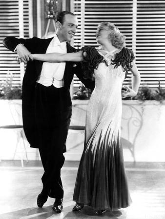 The Gay Divorcee, Fred Astaire, Ginger Rogers, 1934