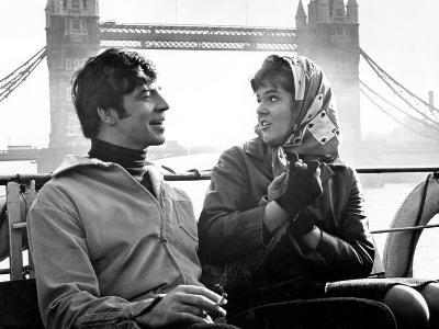 Georgy Girl, Alan Bates, Lynn Redgrave, 1966