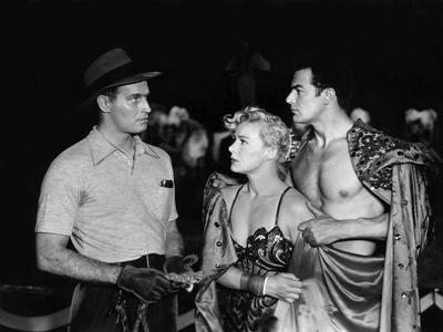 The Greatest Show On Earth, Charlton Heston, Betty Hutton, Cornel Wilde, 1952