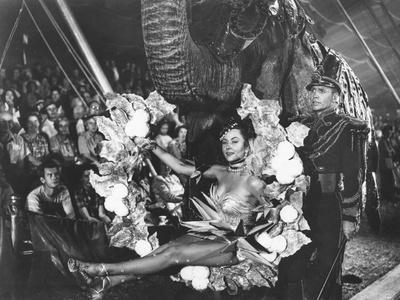 The Greatest Show On Earth, Gloria Grahame, Lyle Bettger, 1952
