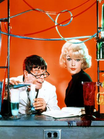 The Nutty Professor, Jerry Lewis, Stella Stevens, 1963