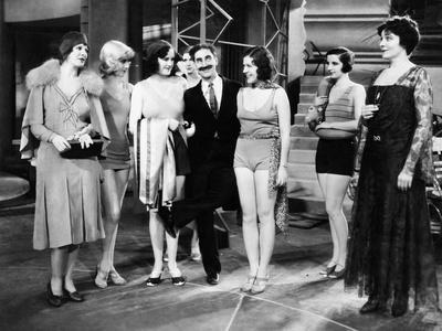 Animal Crackers, Margaret Irving, Groucho Marx, Margaret Dumont, 1930