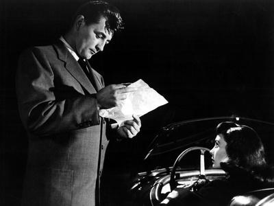 Angel Face, Robert Mitchum, Jean Simmons, 1952