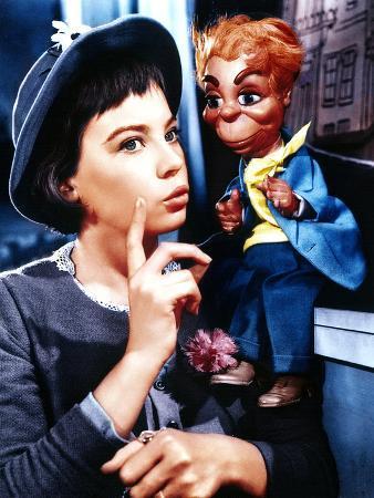 Lili, Leslie Caron, 1953