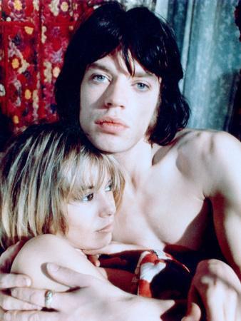 Performance, Anita Pallenberg, Mick Jagger, 1970