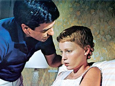 Rosemary's Baby, John Cassavetes, Mia Farrow, 1968