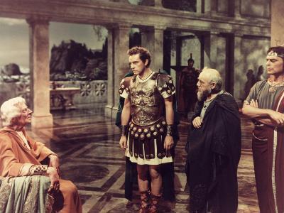 The Robe, Ernest Thesiger, Richard Burton, 1953