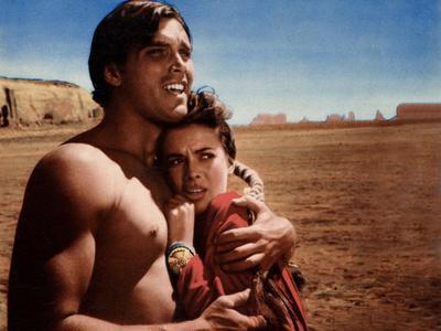The Searchers, Jeffrey Hunter, Natalie Wood, 1956