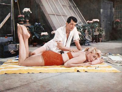 Artists And Models, Dorothy Malone, Dean Martin, 1955