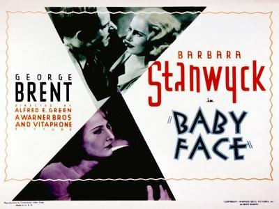 Baby Face, Douglass Dumbrille, Barbara Stanwyck, 1933