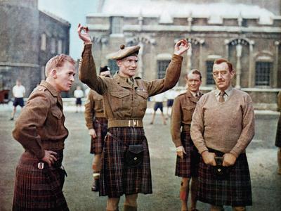 Tunes Of Glory, Gordon Jackson, John Mills, Alec Guinness, 1960