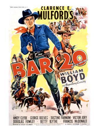 Bar 20, William Boyd, 1943