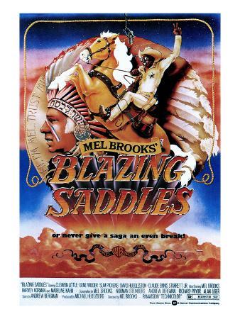 Blazing Saddles, Mel Brooks, Cleavon Little, 1974
