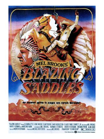 Blazing Saddles, Mel Brooks, Cleavon Little, 1974