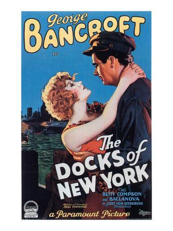 The Docks Of New York, Betty Compson, George Bancroft, 1928