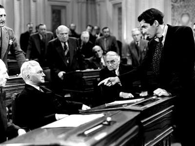 Mr. Smith Goes To Washington, Claude Rains, James Stewart, 1939, Senate Debate