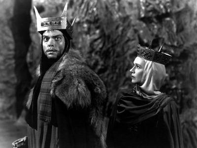 Macbeth, Orson Welles, Jeanette Nolan, 1948