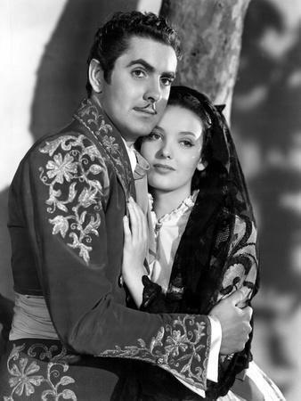 Mark Of Zorro, Tyrone Power, Linda Darnell, 1940
