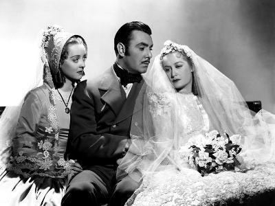The Old Maid, Bette Davis, George Brent, Miriam Hopkins, 1939