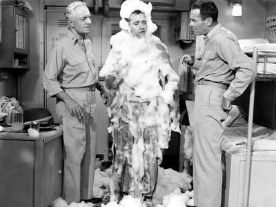 Mister Roberts, William Powell, Jack Lemmon, Henry Fonda, 1955