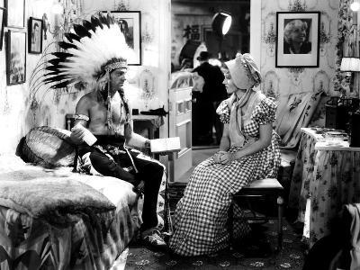 Lady Killer, James Cagney, Margaret Lindsay, 1933, In A Movie Set Dressing Room