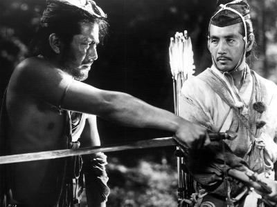 Rashomon, Toshiro Mifune, Masayuki Mori, 1950