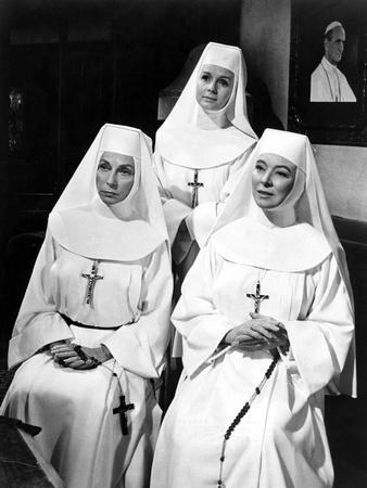 The Singing Nun, Agnes Moorehead, Debbie Reynolds, Greer Garson, 1966