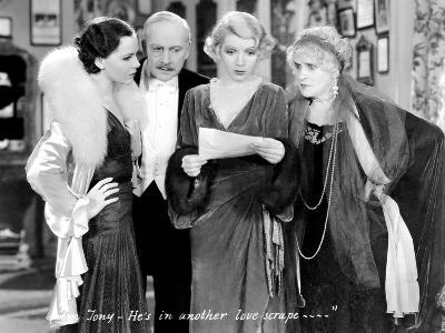 The Royal Family Of Broadway, Mary Brian, Arnold Korff, Ina Claire, Henrietta Crosman, 1930