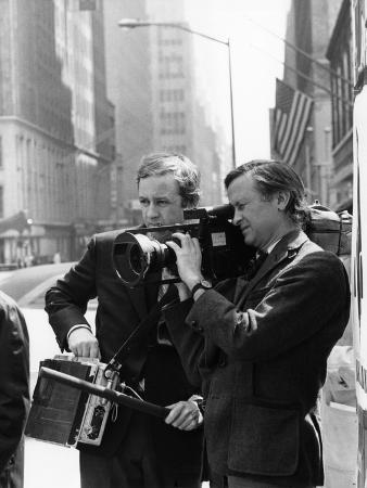 Salesman, Directors David Maysles, Albert Maysles On Set, 1968