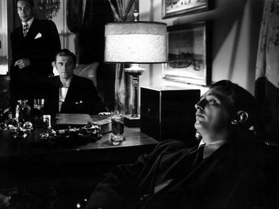 Out Of The Past, Paul Valentine, Kirk Douglas, Robert Mitchum, 1947