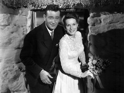 The Quiet Man, John Wayne, Maureen O'Hara, 1952