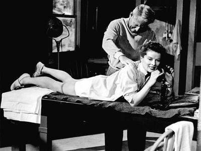 Pat And Mike, Spencer Tracy, Katharine Hepburn, 1952