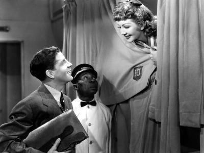 The Palm Beach Story, Rudy Vallee, Charles R. Moore, Claudette Colbert, 1942