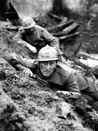 Paths Of Glory, Kirk Douglas, In The Trenches, 1957