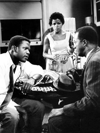 A Raisin In The Sun, Sidney Poitier, Ruby Dee, Louis Gossett Jr., 1961