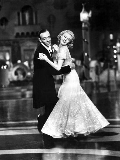 Top Hat Fred Astaire Ginger Rogers 1935 Dancing Photo Allposters Com