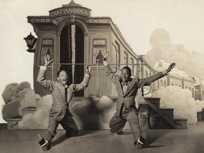 Sun Valley Serenade, Nicholas Brothers, 1941, Doing A Dancing Split