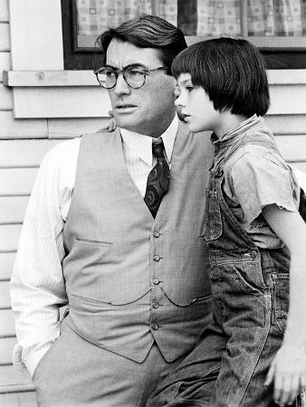To Kill A Mockingbird, Mary Badham, Gregory Peck, 1962