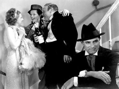Sylvia Scarlett, Dennie Moore, Katharine Hepburn, Edmund Gwenn, Cary Grant, 1935