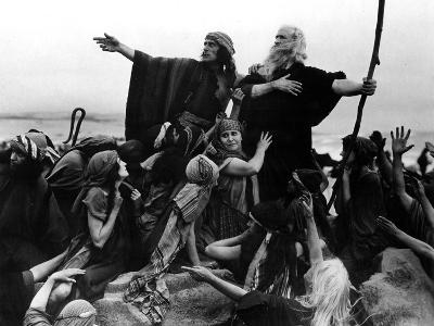 The Ten Commandments, Theodore Roberts As Moses, 1923