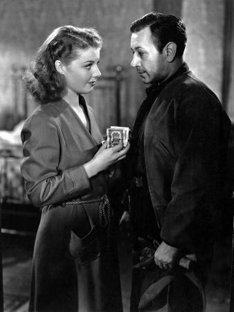 They Drive By Night, Ann Sheridan, George Raft, 1940