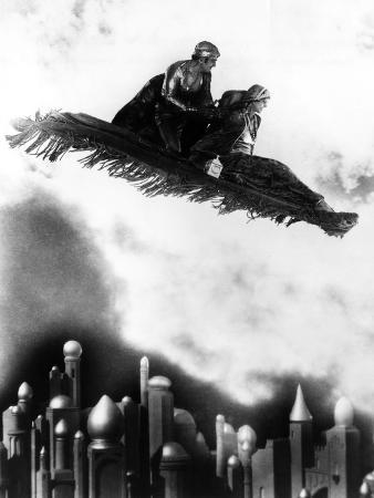 The Thief Of Bagdad, Douglas Fairbanks, Sr., Julanne Johnston, 1924