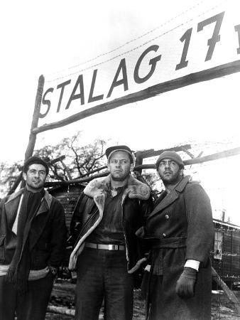 Stalag 17, Harvey Lembeck, William Holden, Robert Strauss, 1953